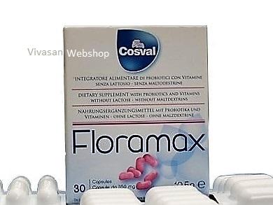 Floramax Probiotische Gelkapseln Cosval 30 Kaps.